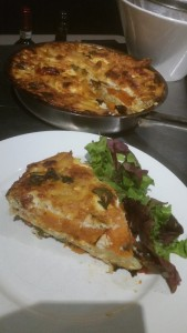 Goat Cheese and Sweet Potato Frittata